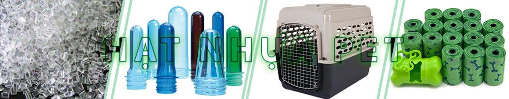 sản phẩm kỹ thuật hạt nhựa PET
