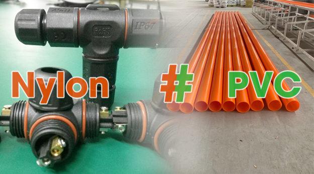 So sánh điểm khác nhau PVC và Nylon