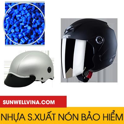 Nhựa sản xuất nón bảo hiểm