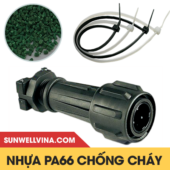 Nhựa Pa66 chống cháy không Halogen